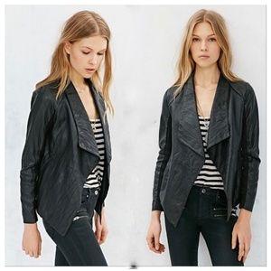 BB Dakota Antonya Crinkle Vegan Leather Jacket